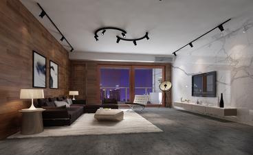 兰江山第180平四室二厅装修效果图