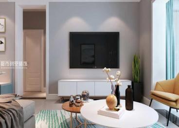 博名繁华里现代简约二室一厅装修效果图