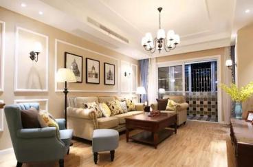 兰石豪布斯卡110平三室二厅装修效果图