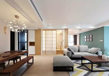 元森北新时代三室二厅全包装修效果图