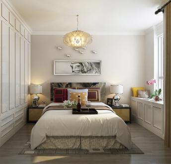 广安云棠69平米二室一厅现代简约装修效果