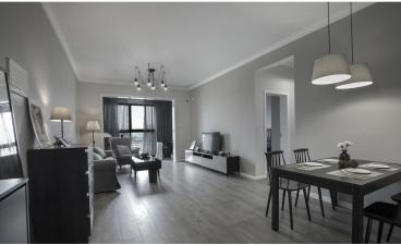 星光耀公寓56平一室一厅装修效果图