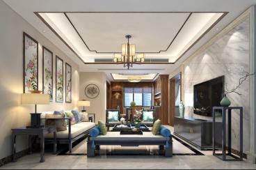 山海韵140平四室二厅装修效果图