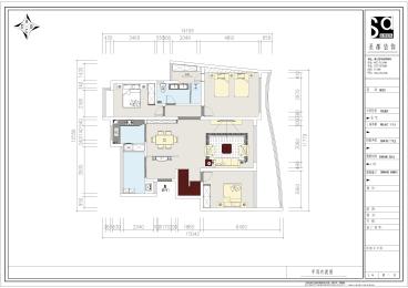 金地国际城全包五室二厅简欧装修效果图