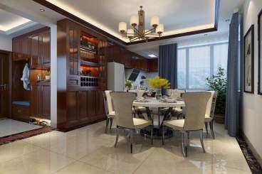 奥园上筑1-2-2303新中式三室二厅1