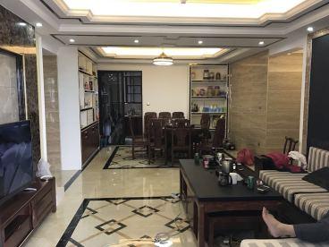 贵港观天下三室二厅新中式装修效果图