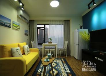 中南SOHO城二室一厅全包装修效果图