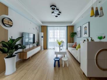 幸福筑家二室一厅全包装修效果图