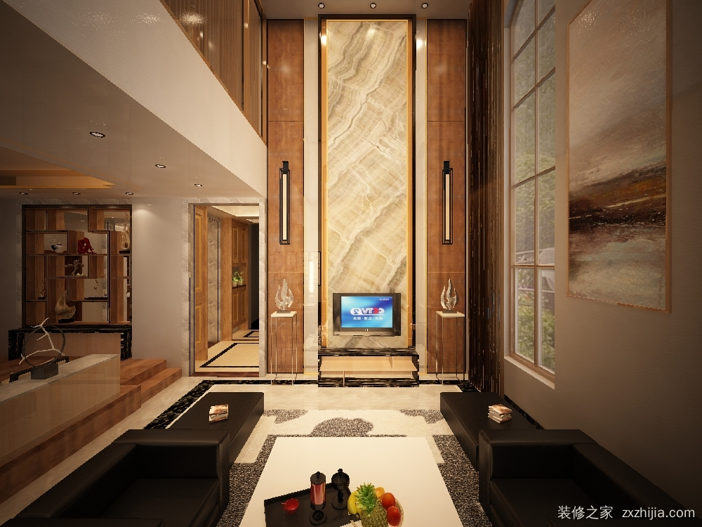 锦绣海湾城别墅193平纯设计装修效果图