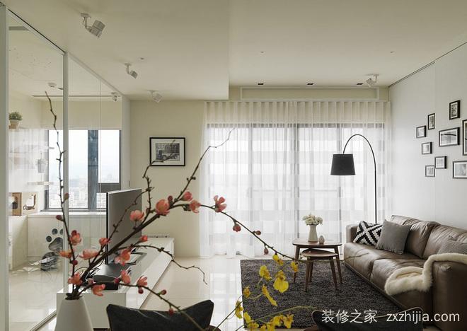 荣和悦澜山二室一厅85平装修效果图