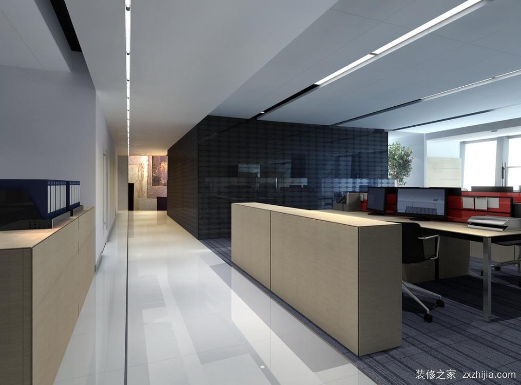 中铁物资办公楼_现代简约_办公室装修效果