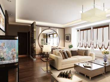龙城新居三室二厅136平装修效果图