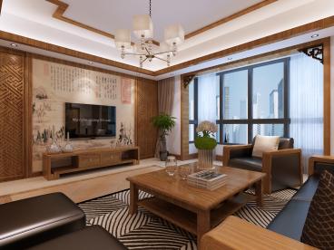 太谷合山小区全包三室二厅装修效果图
