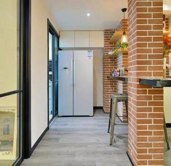 长江明珠90平二室一厅装修效果图