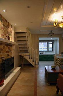 嘉地中心美式二室一厅装修效果图