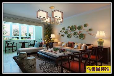 中海御山首府全包四室二厅装修效果图