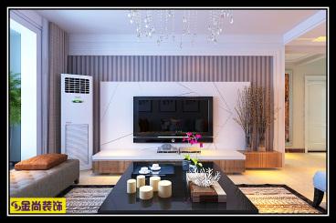 梦世界润园三室二厅134平装修效果图