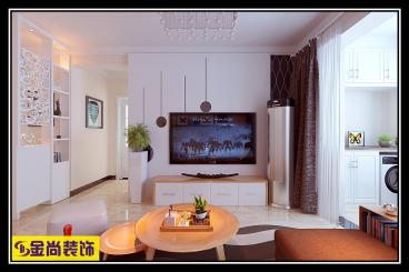 绿地香榭丽三室二厅90平装修效果图