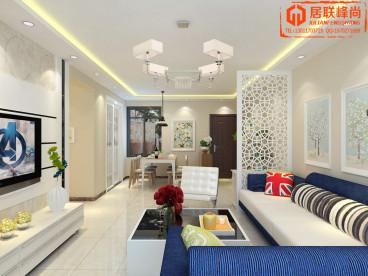 百步亭中国MALL115平三室二厅装修效