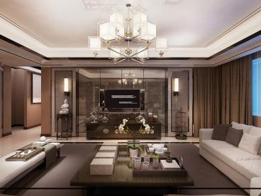 中海国际社区二期四室二厅全包装修效果图