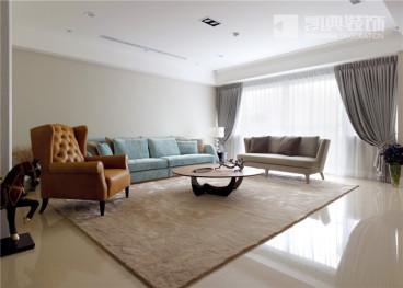 清江西苑三室二厅现代简约装修效果图