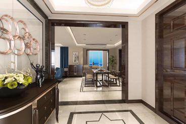 金地澜悦全包三室二厅装修效果图