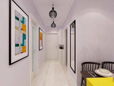 绿城全运村92平二室二厅装修效果图