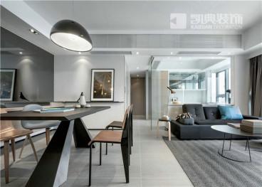 旭日景城全包二室二厅装修效果图
