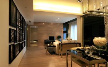中海金沙湾二室一厅现代简约装修效果图