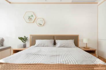 东骧神骏·万泰小区二室一厅日式装修效果图