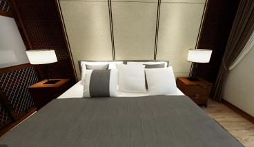 天香西苑三室一厅现代简约装修效果图