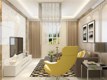 房信彩虹城二室二厅78平装修效果图