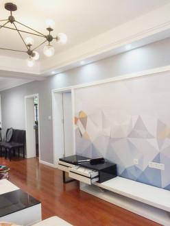 电气化二处现代简约二室二厅装修效果图