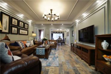 王府城四室一厅美式装修效果图