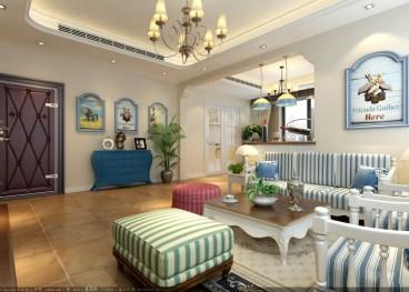 绿城理想之城诚园全包二室二厅装修效果图