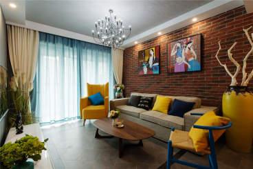 四方景园一区全包二室二厅装修效果图