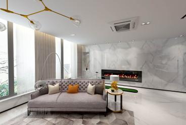 杭州印全包二室二厅装修效果图