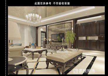 天山熙湖全包四室二厅装修效果图