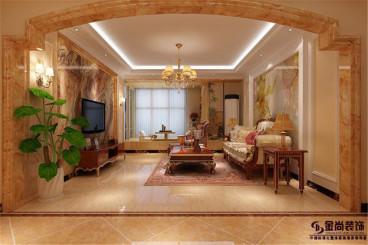 百步亭四室二厅175平装修效果图