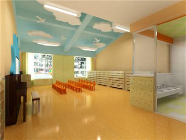 沈阳大东区淘气堡幼儿园2600平全包装修