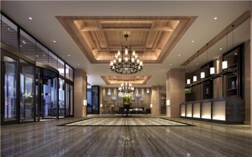 辽阳温泉度假酒店零室零厅全包装修效果图