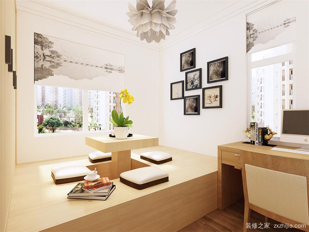 华城景苑二室一厅85平装修效果图