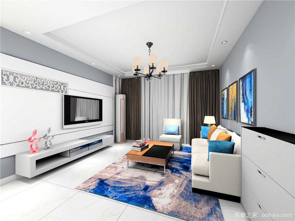 房信彩虹城三室二厅半包装修效果图
