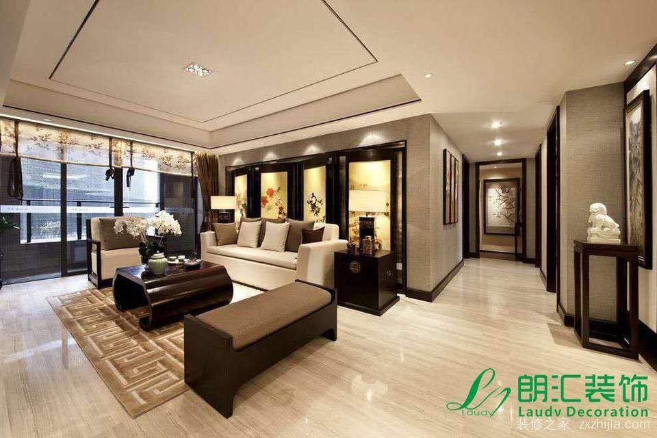 锦绣半岛三室二厅全包装修效果图