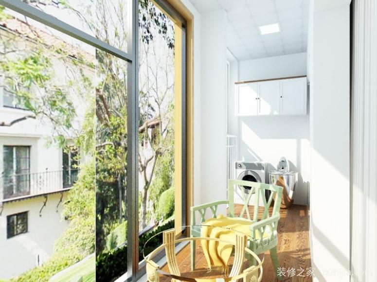 雅居乐国际三室二厅现代简约装修效果图