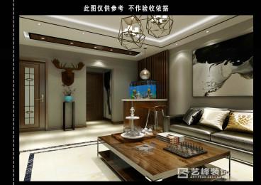 南湖三室二厅150平装修效果图