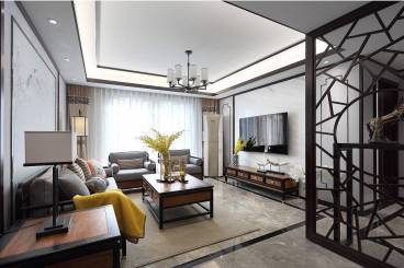 春明景和120平三室二厅装修效果图
