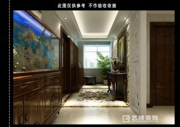连城别苑欧式古典三室二厅装修效果图