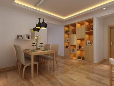 湖岛世家一室二厅120平装修效果图