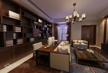 西溪玫瑰232平三室三厅装修效果图